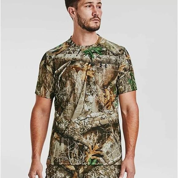 Under Armour Men's Iso-Chill Brushline Short-Sleev